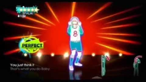 Dare - Just Dance 3 (Wii graphics)