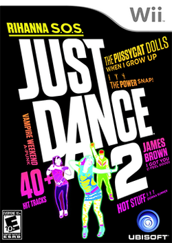 Just Dance 2 Coverart