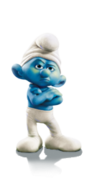Smurfs grouchy trophy