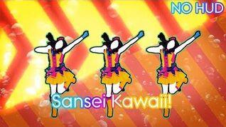 Just Dance Wii U - Sansei Kawaii! (NO HUD)