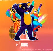 Kids Mode 2018 Menu
