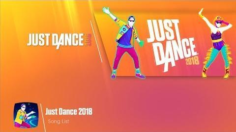 Song List (8th-Gen) - Just Dance 2018