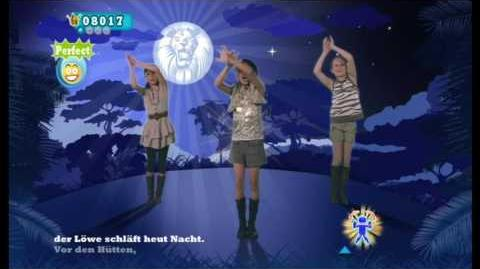 The Lion Sleeps Tonight (German Version) - Just Dance Kids 2