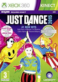 Just Dance 2015 (Xbox 360 PAL Classics Reissue Cover)