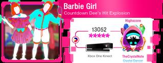 BarbieGirl M617Score