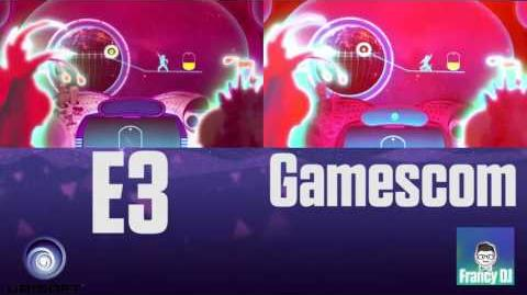 Just Dance Machine Video - E3 & Gamescom versions comparison