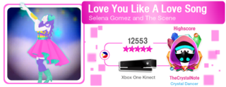LoveYouLikeALoveSong M617Score