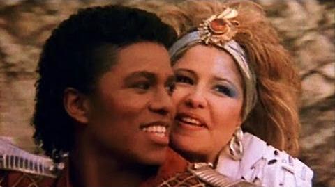 Jermaine Jackson and Pia Zadora - When The Rain Begins to Fall (Video & Lyrics)