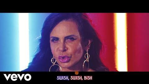 Katy Perry - Swish Swish (Lyric Video Starring Gretchen) ft
