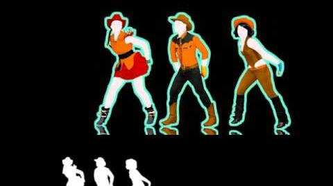 Jailhouse Rock (Line Dance) - Just Dance 4 (Extraction)