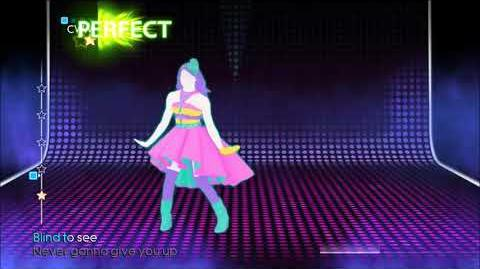 Never Gonna Give You Up (Mashup) - Just Dance 4
