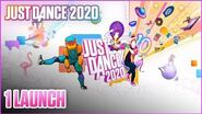 Just Dance 2020 Wii - 1 launch (Menu + avatars)
