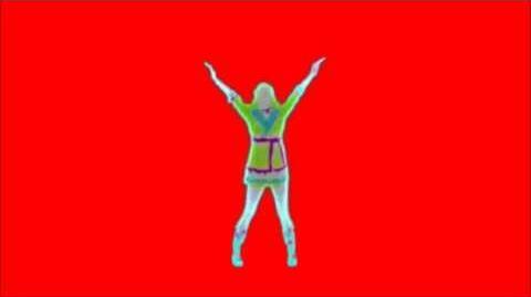 Just Dance Now - It's Raining Men Red Screen Extraction