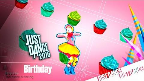 Just Dance 2015 - Birthday