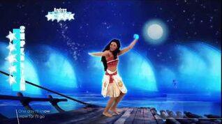 Just Dance 2018-Moana How Far I'll Go (5 MEGASTAR)