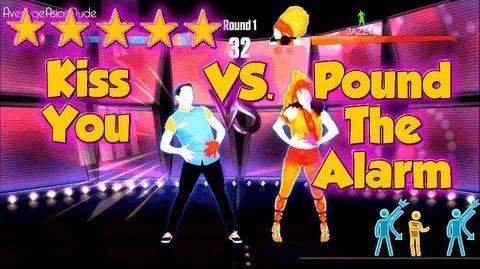 Just Dance 2014 - Kiss You VS