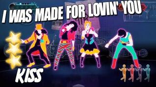 🌟 I Was Made For Loving You - Kiss Just Dance 3 🌟