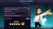 Blackorwhite mj score psp
