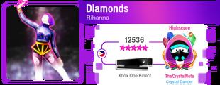Diamonds M617Score