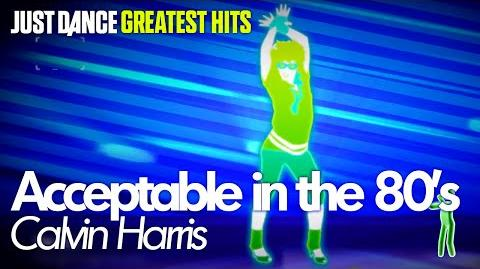 Just Dance Greatest Hits - Acceptable in the 80's (Xbox 360)