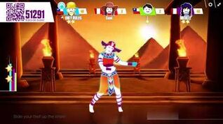 Just Dance Now PC Walk Like an Egyptian by The Bangles (5*estrellas)