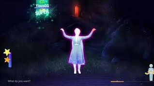 Into The Unknown Frozen 2 Gameplay Just Dance 2020 Nintendo Switch
