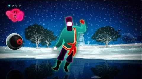 "Just Dance 2 ""Rasputin"" by Boney M. - HQ Choreography"
