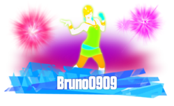 Bruno0909 Sticker