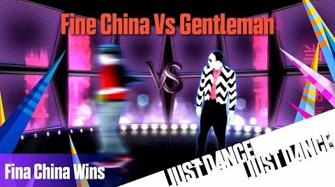 Just Dance 2014 - Fine China (Wins) Vs Gentleman Battle