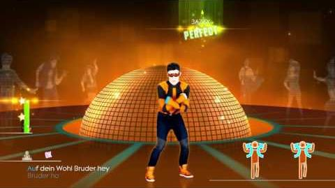 Just Dance 2014 Moskau Mash Up 5 stars ps4 camera