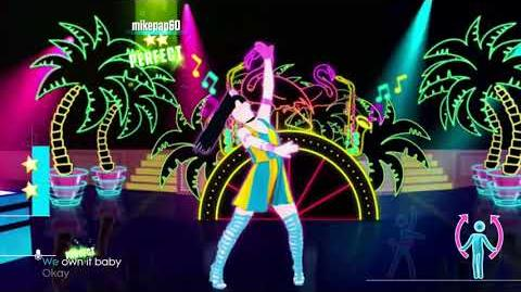 Just Dance 2016 Cola Song Normal Version 5 stars wii u