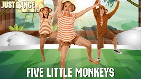 Five Little Monkeys - Just Dance 2017