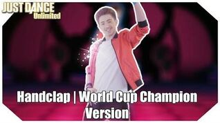 Just Dance Unlimited (2017) - Handclap (World Cup Champion Version) 4 star