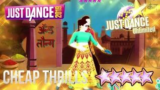 Cheap Thrills (Bollywood Version) - Just Dance 2019