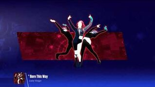 Lady Gaga - Born This Way (Just Dance 2016 In-Game Version)