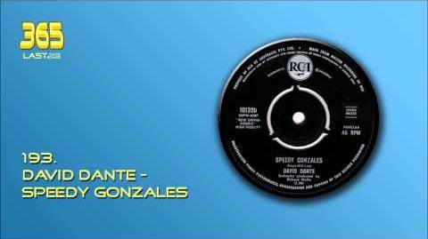 193. David Dante - Speedy Gonzales (1961)