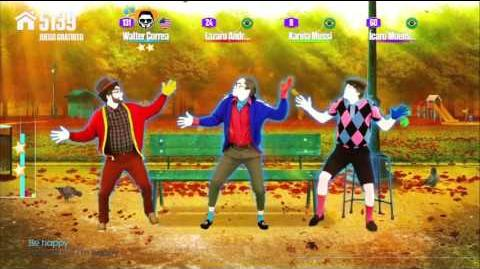 Don't Worry Be Happy - The Bench Men (Just Dance Now)