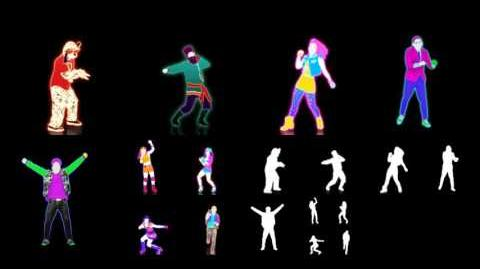 Just Dance 4 Extract Good Feeling (Puppet Master)