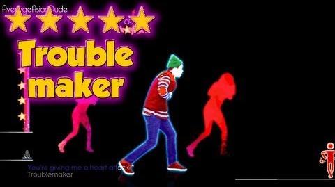 Just Dance 2014 - Troublemaker - 5* Stars