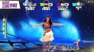 Just Dance Now How Far I'll Go (5 stars)