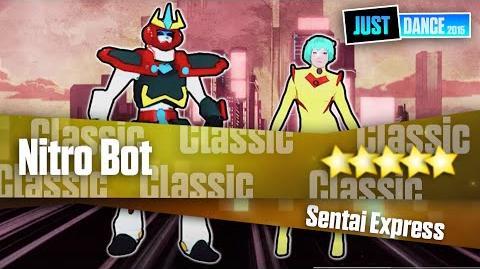 Nitro Bot - Sentai Express Just Dance 2015