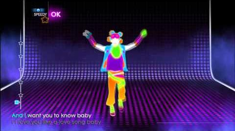 Playthrough - Just Dance 4 - Love You Like a Love Song - Mode Dance Mashup-0