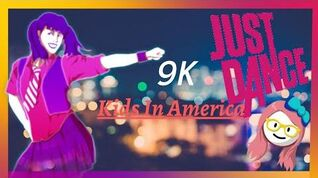 🌟Just dance 1 - kids in America by Kim Wild - 9K score ⭐⭐⭐⭐