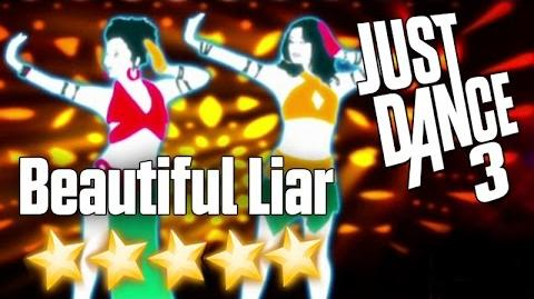 Beautiful Liar - Just Dance 3 (Xbox 360 graphics)