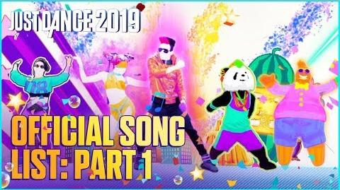 Official Song List (Part 1) - Just Dance 2019 (US)