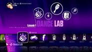 Dancelab jd2018 menu