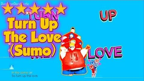 Just Dance 2014 - Turn Up The Love (Sumo) - Alternative Mode Choreography - 5* Stars