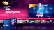 Potato jd2017 menu