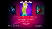 Acceptable jd1 menu