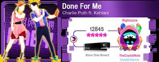 DoneForMe M617Score